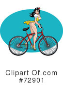 Royalty-Free (RF) Pinup Clipart Illustration #72901