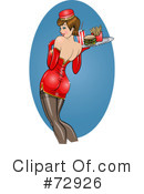 Royalty-Free (RF) pinup Clipart Illustration #72926