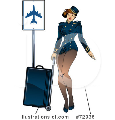 Stewardess Clipart #72936 by r formidable