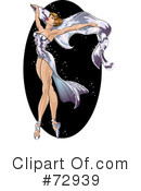 Royalty-Free (RF) pinup Clipart Illustration #72939