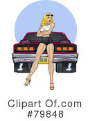 Royalty-Free (RF) pinup Clipart Illustration #79848