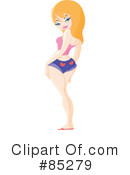 Royalty-Free (RF) pinup Clipart Illustration #85279