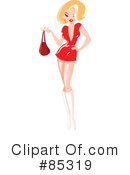 Royalty-Free (RF) pinup Clipart Illustration #85319