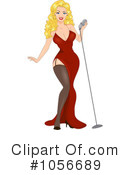 Pinup Woman Clipart #1056689