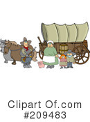 Royalty-Free (RF) Pioneerss Clipart Illustration #209483