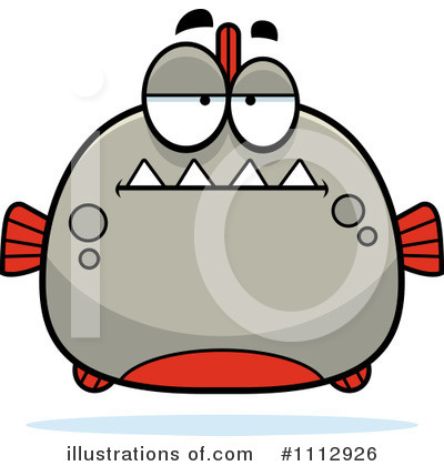 Piranha Clipart #1112926 by Cory Thoman
