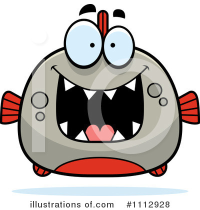 Piranha Clipart #1112928 by Cory Thoman