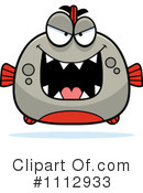 Royalty-Free (RF) Piranha Clipart Illustration #1112933