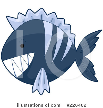 Piranha Clipart #226462 by BNP Design Studio