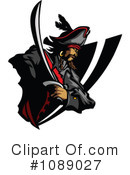 Royalty-Free (RF) Pirate Clipart Illustration #1089027