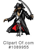 Pirate Clipart #1089955 by Chromaco