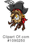 Royalty-Free (RF) Pirate Clipart Illustration #1090250