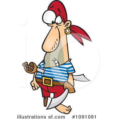 Pirate Clipart #1091081 by toonaday