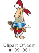 Royalty-Free (RF) pirate Clipart Illustration #1091081