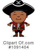 Pirate Clipart #1091404 by Cory Thoman