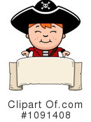 Pirate Clipart #1091408 by Cory Thoman