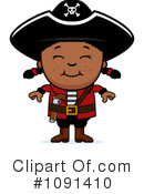 Pirate Clipart #1091410 by Cory Thoman