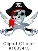 Pirate Clipart #1099413 by Pushkin