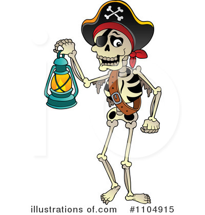 Pirate Clipart #1104915 by visekart