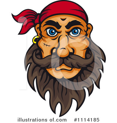 Pirate Clipart #1114185 by Vector Tradition SM
