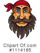 Royalty-Free (RF) Pirate Clipart Illustration #1114185
