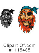 Pirate Clipart #1115485 by Vector Tradition SM