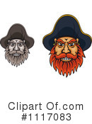 Royalty-Free (RF) Pirate Clipart Illustration #1117083