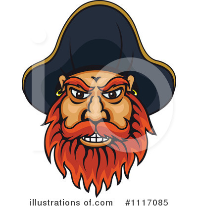 Royalty-Free (RF) Pirate Clipart Illustration by Vector Tradition SM - Stock Sample #1117085