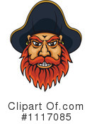 Royalty-Free (RF) Pirate Clipart Illustration #1117085
