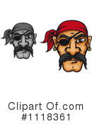 Pirate Clipart #1118361 by Vector Tradition SM