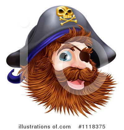 Royalty-Free (RF) Pirate Clipart Illustration by AtStockIllustration - Stock Sample #1118375