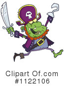 Royalty-Free (RF) pirate Clipart Illustration #1122106