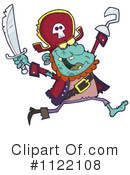 Royalty-Free (RF) pirate Clipart Illustration #1122108