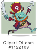 Royalty-Free (RF) pirate Clipart Illustration #1122109