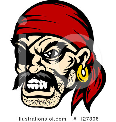 Pirate Clipart #1127308 by Vector Tradition SM