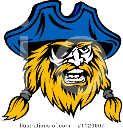 Pirate Clipart #1129607 by Vector Tradition SM