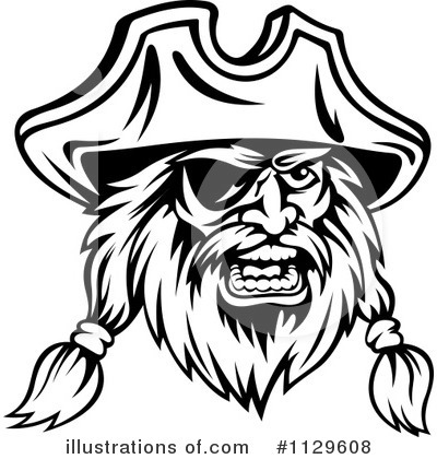 Pirate Clipart #1129608 by Vector Tradition SM