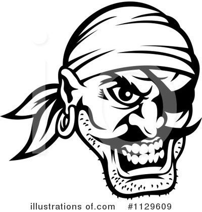 Pirate Clipart #1129609 by Vector Tradition SM