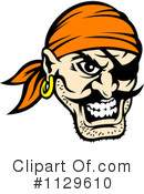 Royalty-Free (RF) Pirate Clipart Illustration #1129610