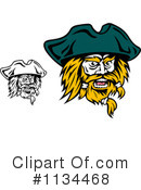 Royalty-Free (RF) Pirate Clipart Illustration #1134468