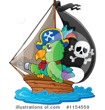 Pirate Clipart #1154559 by visekart