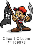 Royalty-Free (RF) Pirate Clipart Illustration #1169978