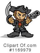 Royalty-Free (RF) Pirate Clipart Illustration #1169979