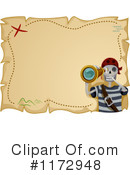 Royalty-Free (RF) Pirate Clipart Illustration #1172948
