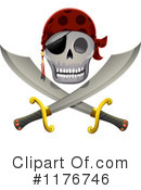 Royalty-Free (RF) Pirate Clipart Illustration #1176746