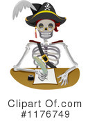 Royalty-Free (RF) Pirate Clipart Illustration #1176749