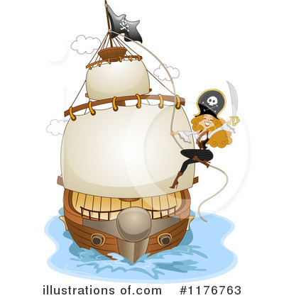Royalty-Free (RF) Pirate Clipart Illustration by BNP Design Studio - Stock Sample #1176763
