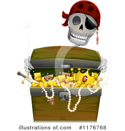 Royalty-Free (RF) Pirate Clipart Illustration by BNP Design Studio - Stock Sample #1176768