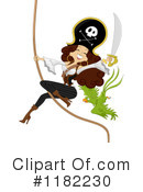 Royalty-Free (RF) Pirate Clipart Illustration #1182230