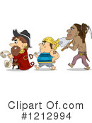 Royalty-Free (RF) Pirate Clipart Illustration #1212994